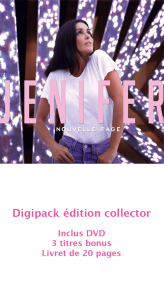 Album « Nouvelle page » édition collector