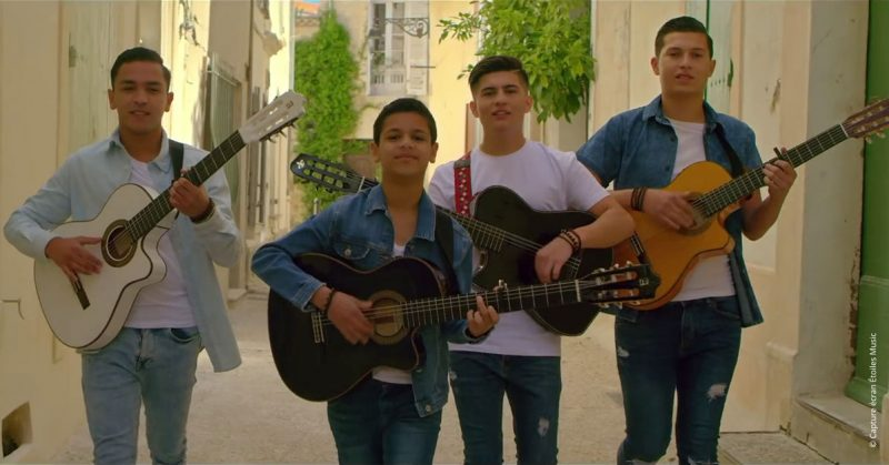 Single et clip « Sans amour on est rien » des New Gypsies